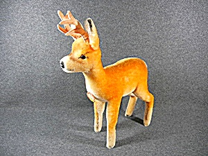 Steiff Original Eujan Buck Deer Mohair 50s 60s Germany