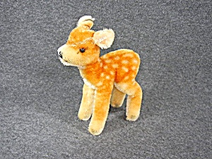 German Mohair Possible Steiff Fawn Deer