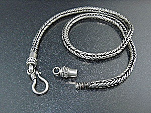 Sterling Silver Wheat Chain Indonesia 68 Grams (Image1)