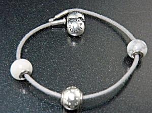 Pandora Sterling Silver Hope Joy Positivity Bracelet (Image1)