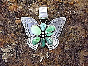 CARICO LAKE Sterling Silver D. Livingston Butterfly (Image1)