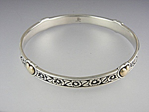 JAMES AVERY 14K Gold Hearts Sterling Silver Bracelet (Image1)