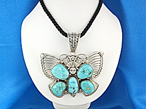 Native American Carico Lake D Livingston Turquoise
