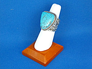 Ring Sterling Silver Turquoise ALEX SANCHEZ (Image1)