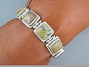 Bracelet Sterling Silver Jasper  (Image1)