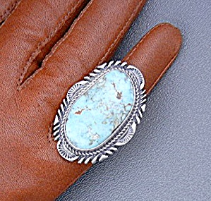 Dry Creek Turquoise Sterling Silver Thomas  Fransisco U (Image1)