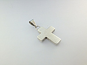 Pendant sterling Silver Cross Taxco  Mexico (Image1)