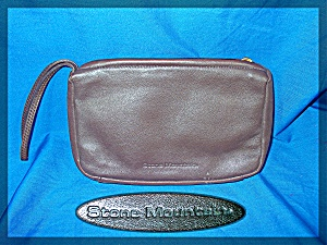 Clutch purse Stone Mountain Brown Leather (Image1)