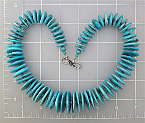 Native American Sleeping Beauty Turquoise Sterling Sil