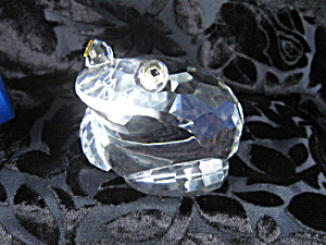 Shannon Ireland Crystal Frog Paperweight