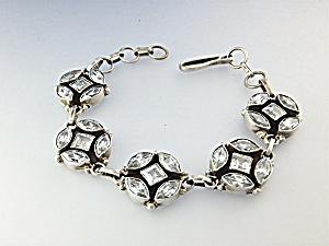 Bracelet Sterling Silver Natural White ZIRON (Image1)
