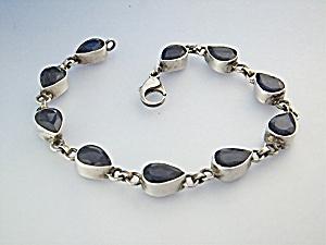Bracelet Sterling Silver Blue iolite  (Image1)