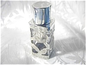 Sterling Silver Perfume Bottle From Mexico.