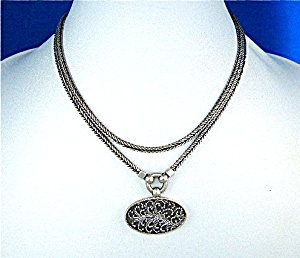 Lois Hill Sterling Silver Necklace Indonesia (Image1)