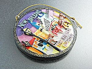 Christmas Ornament New Orleans French Quarter (Image1)