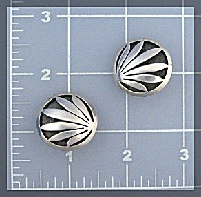 Sterling Silver JANTYE Clip Earrings Japan (Image1)
