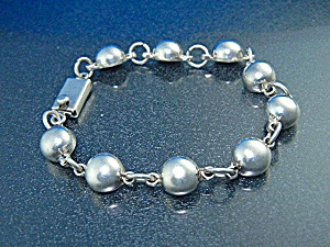 Taxco Mexico Sterling Silver Bracelet (Image1)