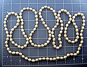 Freshwater pearl necklace 56 Inches (Image1)
