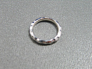 Sterling Silver Band Ring By Michael Dawkins