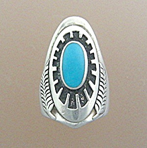 Ben Nighthorse Native American Sterling Silver Ring