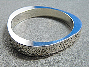 Sterling Silver Designer Look Bangle Bracelet (Image1)