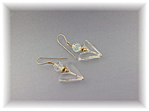 Earrings Crystal Borealis Pierced Loop Earrings (Image1)