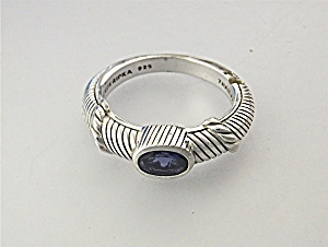 Ring Sterling Silver Iolite Judith Ripka Thailand (Image1)