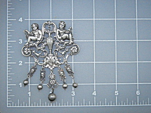 Guilermo Cini Sterling Silver Italy Brooch