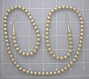 Sterling Silver Bead Necklace 31 Inch 7mm (Image1)