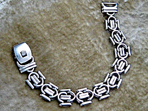 Sterling Silver Bracelet Italy Serial Numbered (Image1)