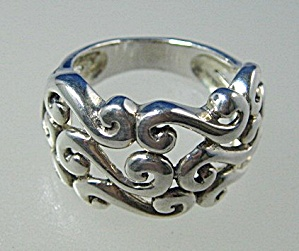 Sterling Silver Lacy Design Ring Thailand (Image1)