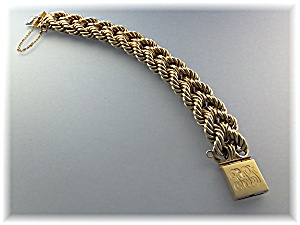 Bracelet 14K Gold Double Rope 7 1/2 and 32 Grams (Image1)