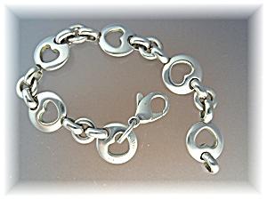 Bracelet TIFFANY Sterling Silver Heart Bracelet 1999 (Image1)