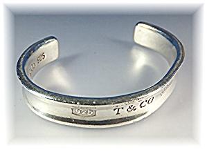 Bracelet Sterling Silver TIFFANY Cuff 1997 (Image1)