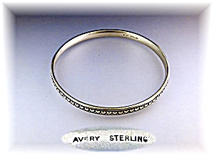 JAMES AVERY Sterling Silver Texas Hearts Bangle (Image1)
