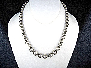 Silpada Sterling Silver Beads Necklace 16 1/2 Inches