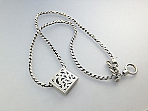 Necklace Sterling Silver  Toggle Clasp LOIS HILL (Image1)