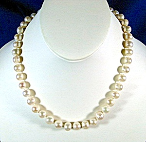 Freshwater Pearl 9mm Pearl Necklace 18 Inch