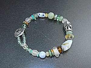 Jess MaHarry Sterling Silver Bead Bracelet Sun Hanger (Image1)