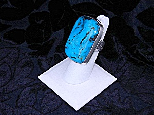 David Troutman & Gundi Turquoise Sterling Silver Ring (Image1)