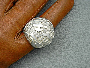 Native American Sterling Silver Ben Nighthorse Ring