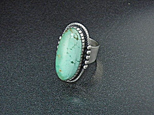Native American Sterling Silver Turquoise D. Livingston