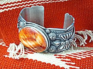 DARREL CADMAN  Bracelet Sterling Silver Spiny Oyster US (Image1)
