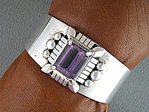 Bracelet Ametrine Sterling Silver CARL QUINTANA USA (Image1)