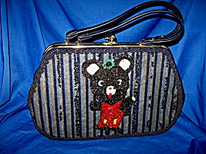 Vintage Teddy Bear Purse (Image1)