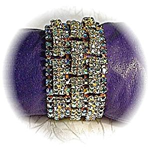 BLING Claw Set Sparkling  Rhinestone Bracelet (Image1)