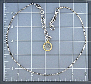 Silver BRIGHTON Sisters Necklace 18 Inch (Image1)