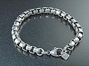Sterling Silver Studio GL Albuquerque NM Box Link Brace (Image1)