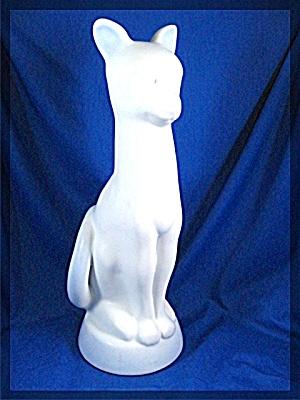 Van Brigtgle Pottery Colorado Springs Cat (Image1)
