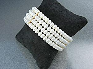 Freshwater Pearls Gold Bracelet (Image1)